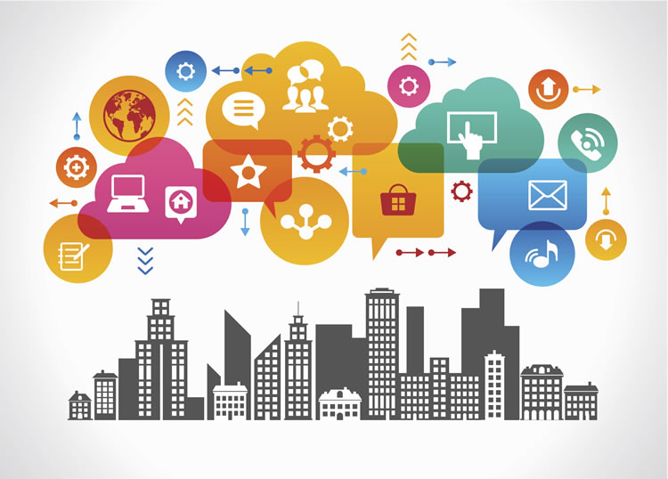 vectors-from-a-city-landscape-with-different-icons-above-it-incognito-software