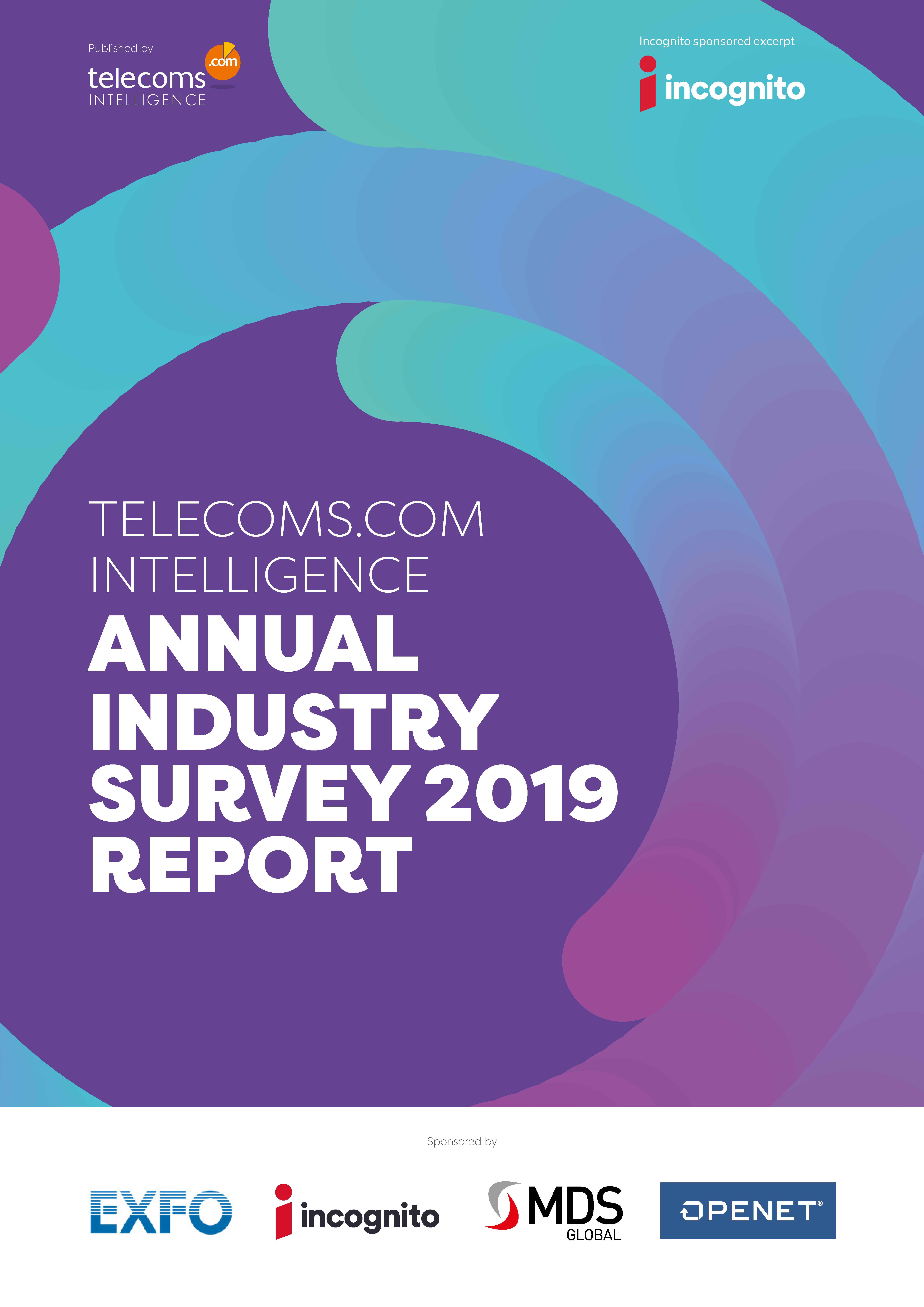 Telecoms.com Annual Industry Survey 2019 Cover
