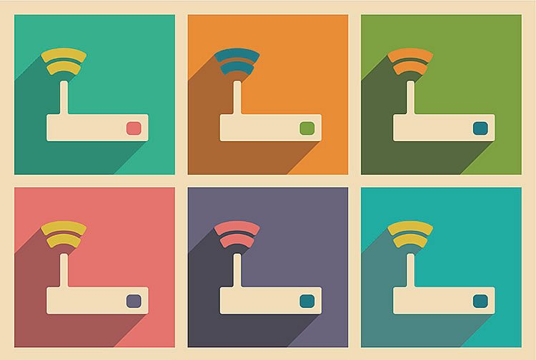 vectors-with-different-routers-graphic-incognito-software