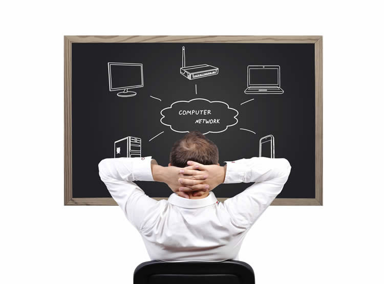 man-looking-at-a-black-board-with-different-graphics-incognito-software