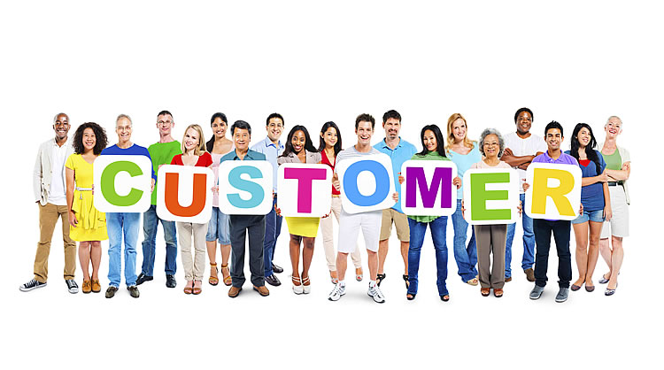 customers-holding-a-sign-with-customers-word-on-iy-incognito-software