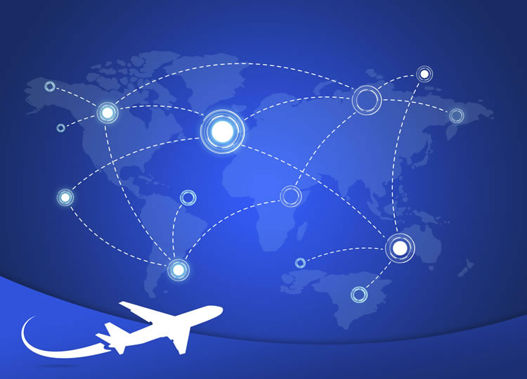 graphic-of-a-plane-going-trhough-the-map-incognito-software