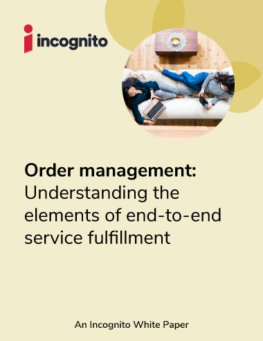 Incognito order management white paper