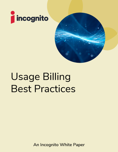 Incognito usage billing white paper